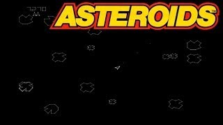 OLD GAMES : ASTEROIDS