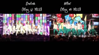 SEVNETEEN Pretty You Choreography Comparison
