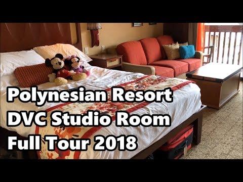 Disney's Polynesian Village Resort | DVC Studio Room Tour 2018 | Walt Disney World