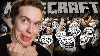 Minecraft Giving Fans Creative Mode Minecraft Trolling Funny Moments