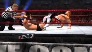 WWE'13のオンライン試合動画です。普段、こんな感じで遊んでいます。う...