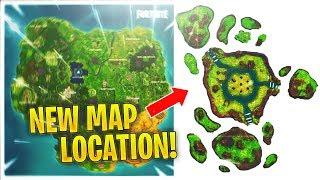 Événement papillon de la FUITE! Nouveau emplacement de la carte - Destruction cube! (Fortnite)