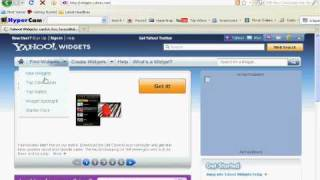 how to install yahoo widgets