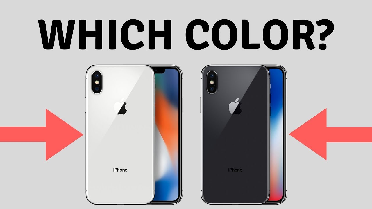 Image result for iPhone X has two color options; silver and space gray.