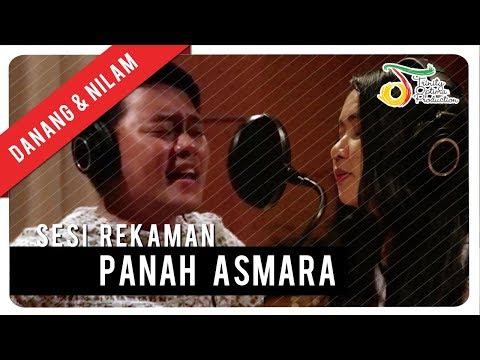 Nilam Gamma1 & Danang - Panah Asmara | Sesi Rekaman