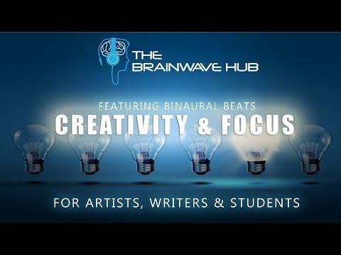 Creativity Music for Writing, Art, Work etc. - Focus & Creativity (With Binaural Beats)