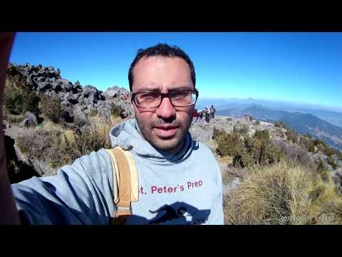 Santa Maria Volcano in Guatemala (Volcán Santa María) - narrated