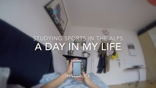 Study Sports In The Alps | A Day In My Life | GoPro HD