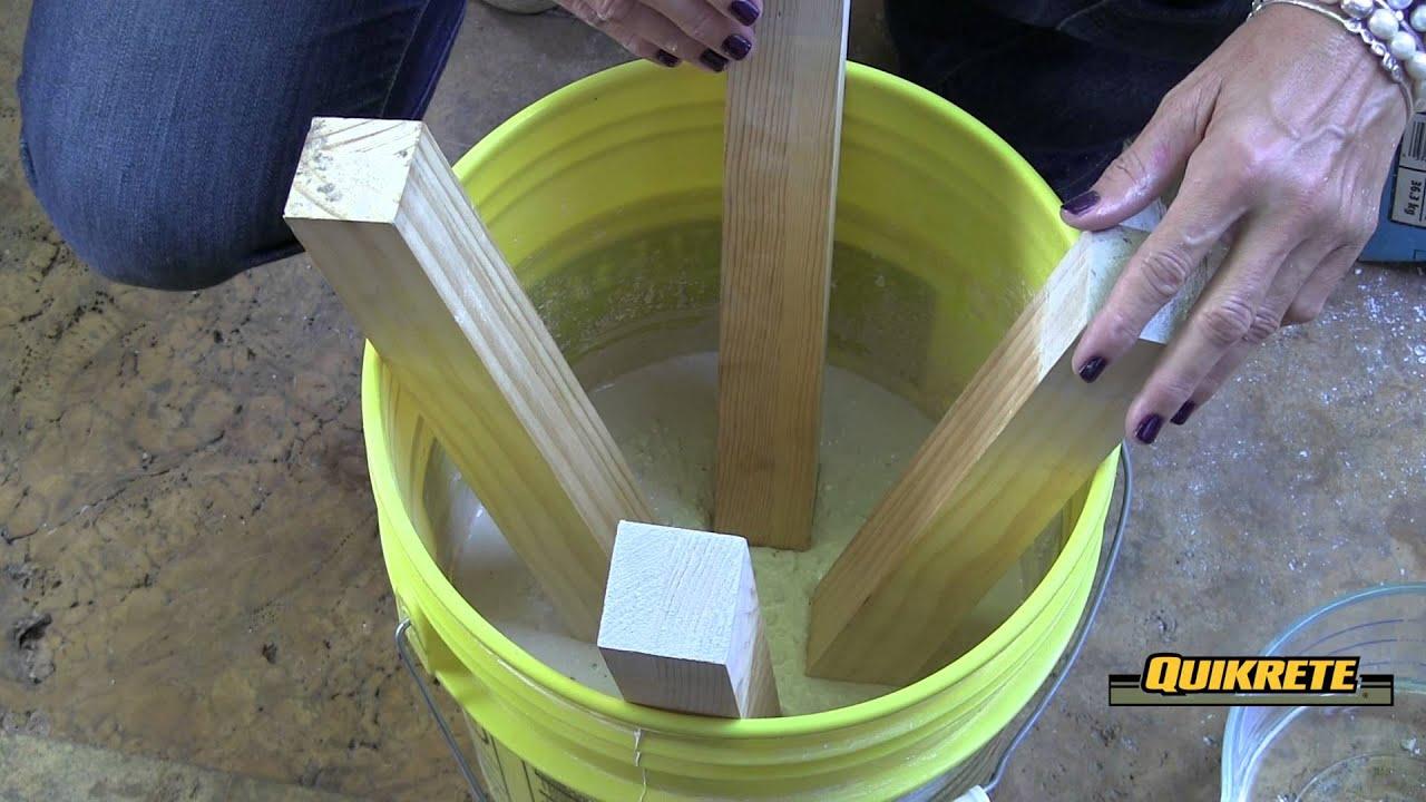 Ideas concretas c mo hacer un taburete en concreto youtube - Como hacer cocinita de madera ...