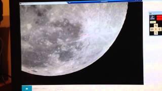 Quick demo of Dark Centre's robotic telescope