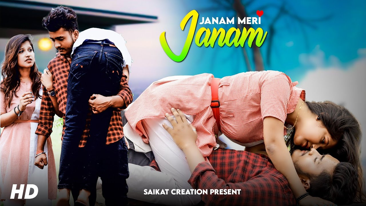 Jaanam Meri Jaanam   School Love Story   Alka Yagnik   Romantic Song   Saikat Creation