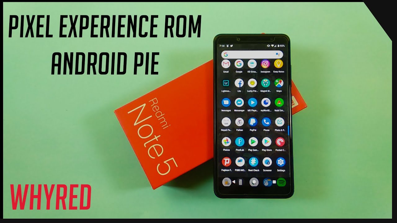 Google Pixel Experience Rom For Redmi Note 5