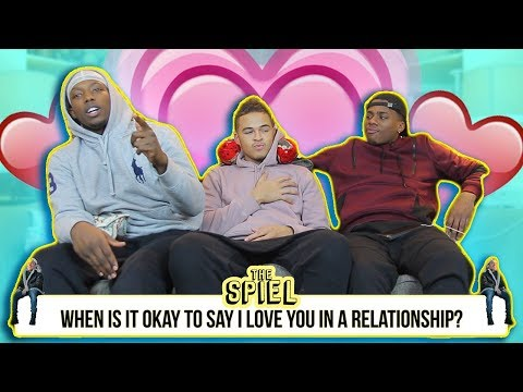When is it okay to say I love you in a relationship? | The Spiel