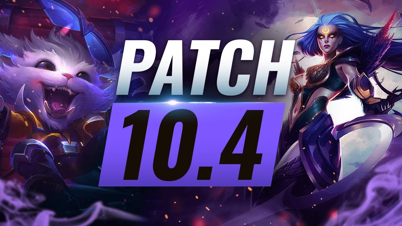 Best Champions TIER List – League of Legends Patch 10.4 thumbnail