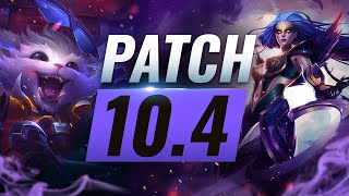 Best Champions TIER List – League of Legends Patch 10.4