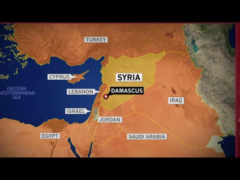 'Loud Explosions:' Syrian Opposition Sources After Trump Announces Precision Strikes | NBC News