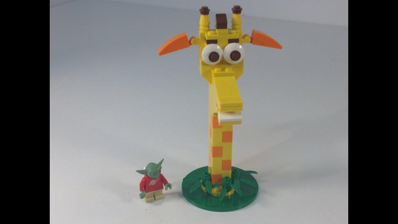 LEGO Toys R Us Geoffrey Giraffe Polybag TRU mascot