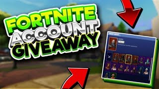 RARE FORTNITE ACCOUNT GIVEAWAY! [OPEN NOW]