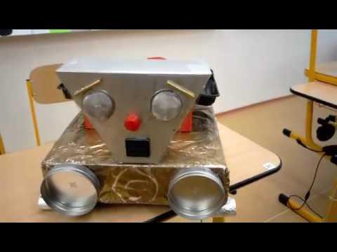 Robot from the Czech Republic art classes