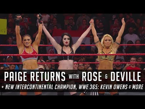 Roman Reigns Wins Intercontinental Title, Paige Returns to Raw & More (Smack Talk 312 Hot Tags)
