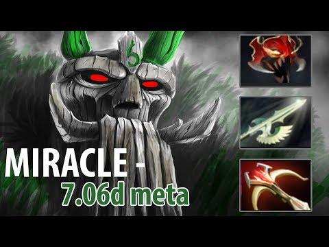 Miracle Use Treant Like a BOSS Roaming Style 9K Dota 2