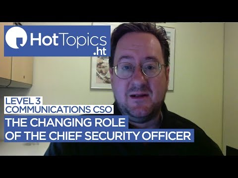The changing role of the Chief Security Officer