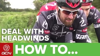 How To Ride Iฑ A Headwind | Pro Cycling Tips