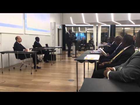 Uganda Business Forum May 2015 Oslo