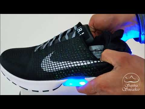 0a3851b7f1f25f UA Nike HyperAdapt 1.0 Glow in the Dark Unboxing Review. Sneakers Sophia