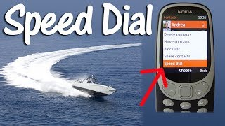 Nokia 3310 2017 2G How to Speed Dial
