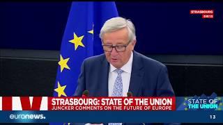 Discours annuel sur l\'état de l\'Union de Jean-Claude Juncker