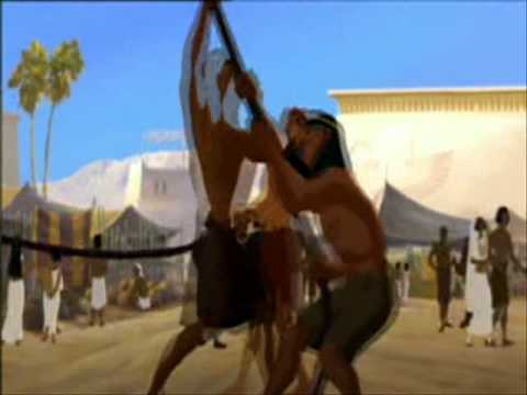 JOSEPH REY DE LOS SUEÑOS ENTRA EN EGIPTO