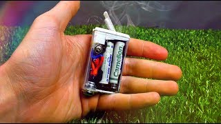 How to make MINI VAPE | OVT
