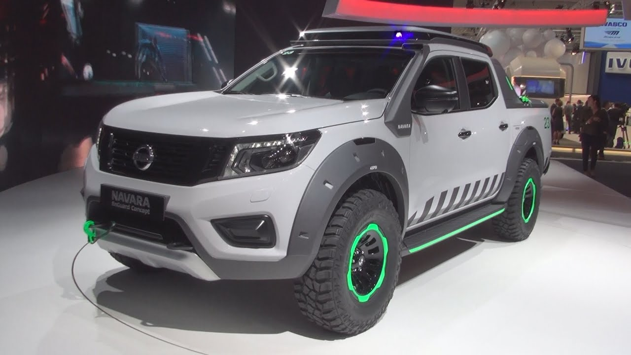 Nissan Navara EnGuard Concept Exterior and Interior in 3D ...