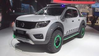 Nissan Navara EnGuard Concept Exterior and Interior in 3D