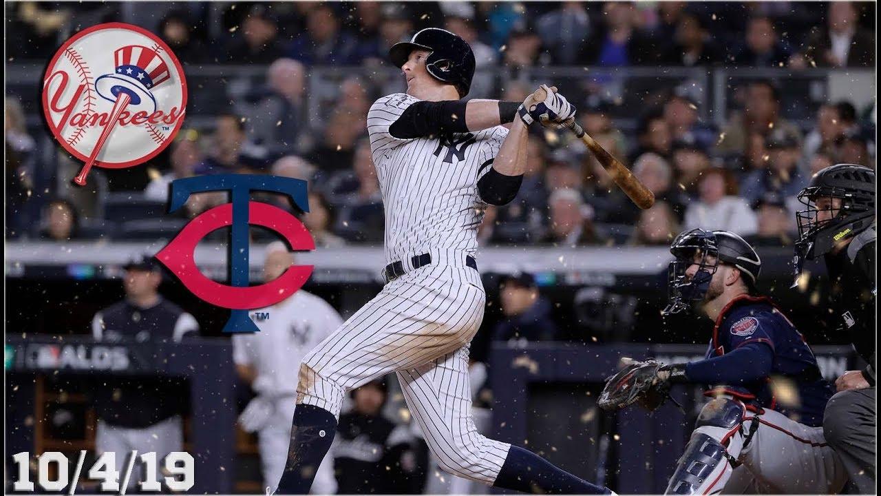 New York Yankees Highlights Alds Game 1 Vs Minnesota Twins