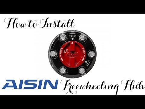 How to install Aisin Free-wheel Hubs on Isuzu D-max