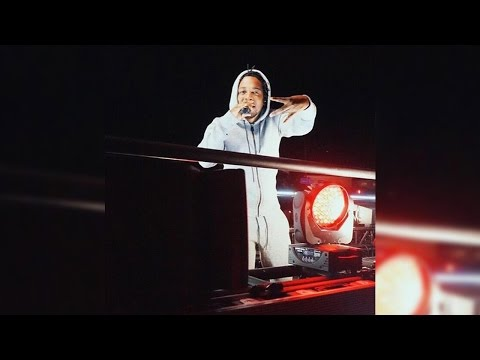 Kendrick Lamar's Surprise Concert On A Moving Truck In Hollywood; Performs