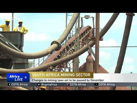 Changes to South Africa's mining laws set to be passed by December