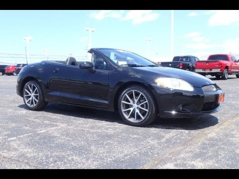2011 mitsubishi eclipse spyder gs sport convertible for sale dayton troy piqua sidney ohio 27107a