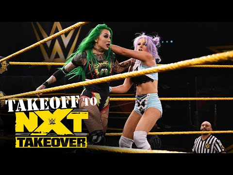 NXT Women's Title No. 1 Contender's Battle Royal: NXT Takeoff to TakeOver, Sept. 23, 2020
