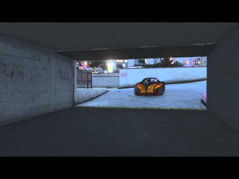 Grand Theft Auto V - Online Game freeze when entering garage (XBOX 360)