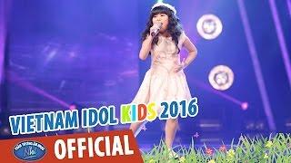 VIETNAM IDOL KIDS 2016 - GALA 1 - SẮC MÀU - BẢO TRÂN