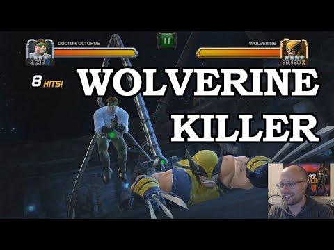 Doctor Octopus VS ROL Wolverine  FULL KILL | Marvel Contest of Champion
