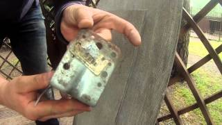 Плоский шифер, испытываем крепеж!(, 2015-08-28T15:02:50.000Z)