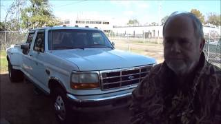1997 Ford F350 XLT Dually Video Test Drive