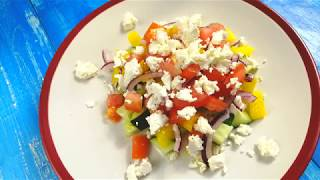 Как приготовить вкусный шопский салат