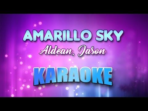 Aldean, Jason - Amarillo Sky (Karaoke...