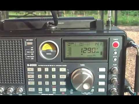 1290 khz DX-AM Radio Brasil Sul , Londrina , Parana , Brasil