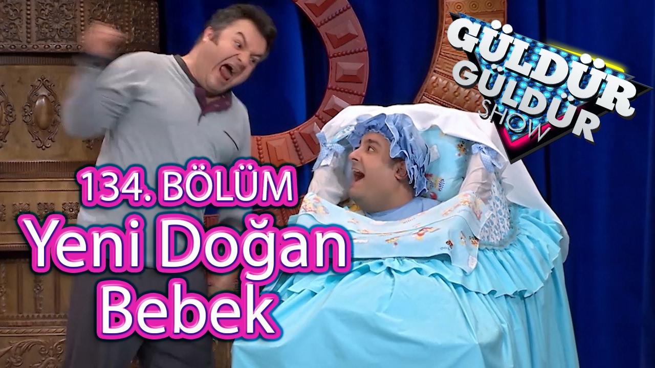 Güldür Güldür Show 134 Bölüm Yeni Doğan Bebek Skeci Youtube